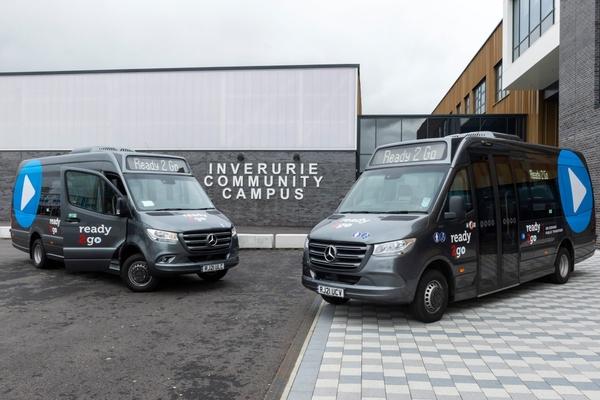 Aberdeenshire launches demand-responsive transport service