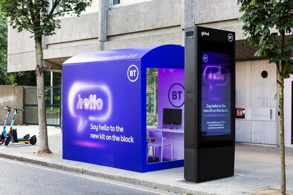 BT plans to roll out 300 Street Hub 2.0 units across the UK