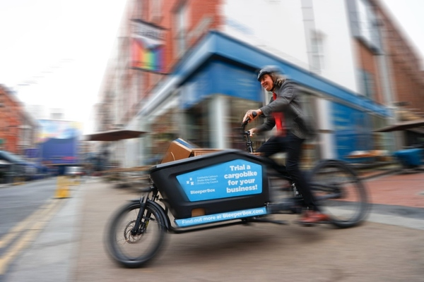 Dublin City Council launches cargobike scheme for local businesses
