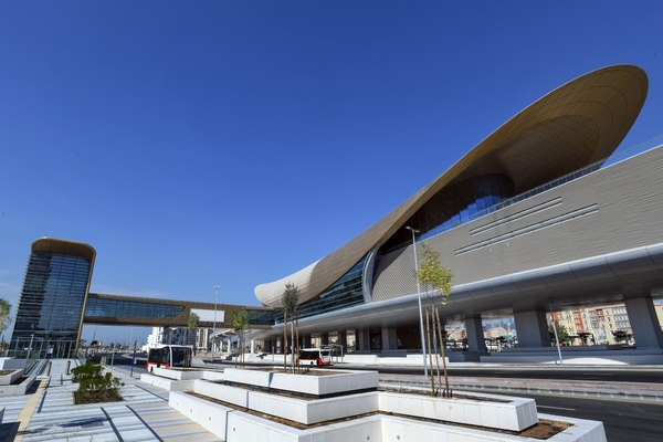 Metro stations will be linked with bus, taxi and marine services. Copyright: RTA